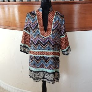 THML Great Condition Patterned Tunic